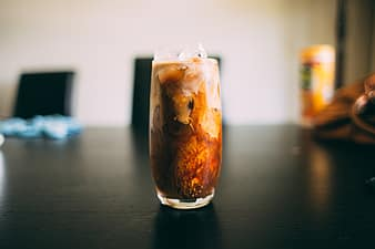 drinks beverage cold table restaurant ice coffee thumbnail1