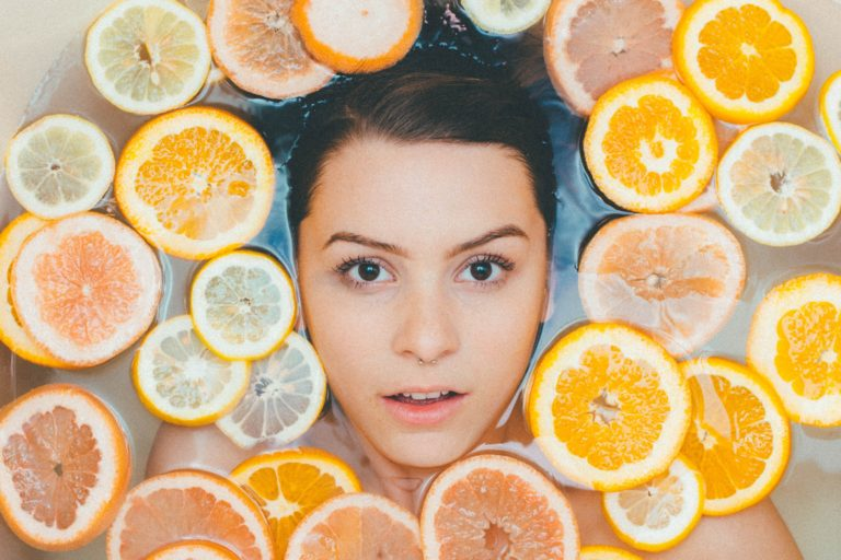 Clear Skin Using Healthy Food clear skin with healthy food