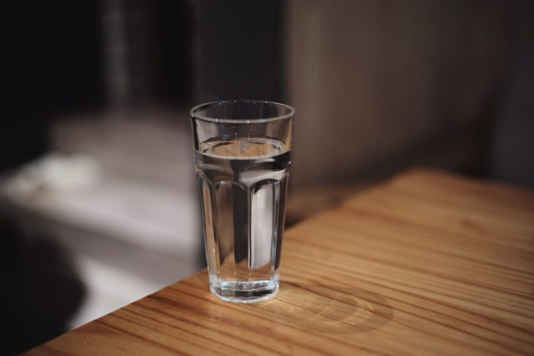 Drink too Much Water glass of water